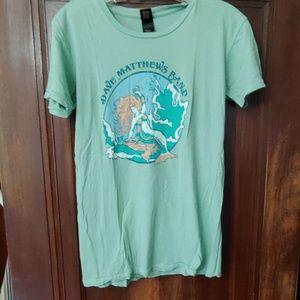 Dave Matthews Band mermaid t-shirt